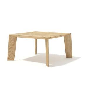 Stolik z litego drewna dębowego Javorina Tin Tin, 50cm