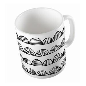 Kubek Black Shake Bumpy Stripes, 330ml