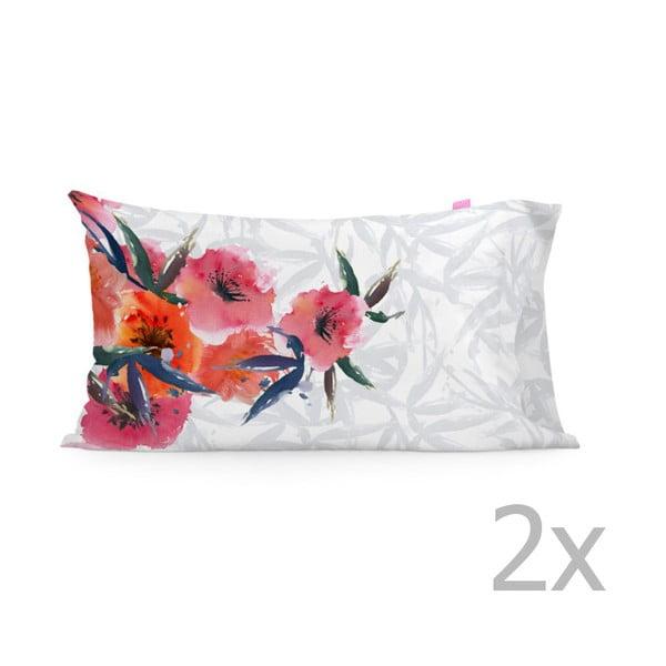 Zestaw 2 poszewek na poduszki Happy Friday Flora, 50x80 cm