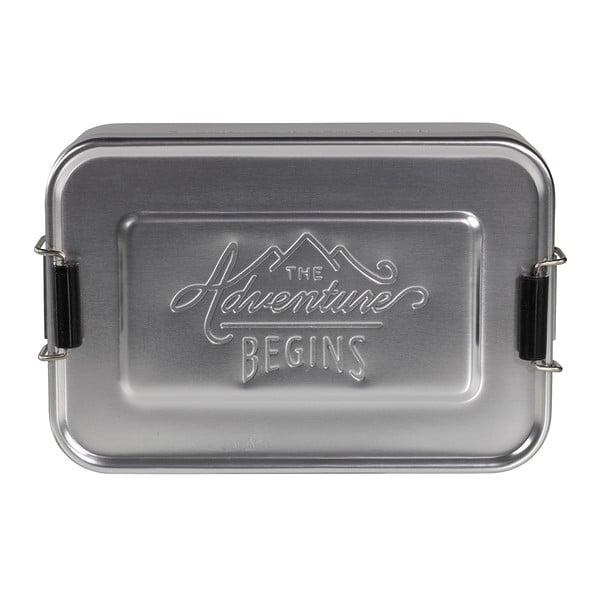 Śniadaniówka Gentlemen's Hardware Silver Tin