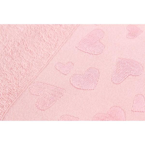 Komplet 2 ręczników Kalp Dusty Rose, 50x90 cm