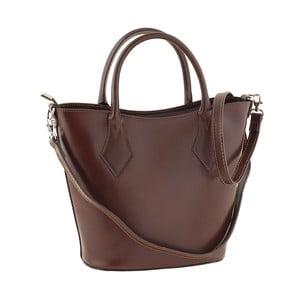 Skórzana torebka Teggie Brown