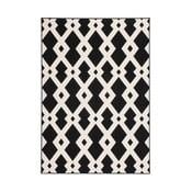 Czarny dywan Stella 100, 160x230 cm