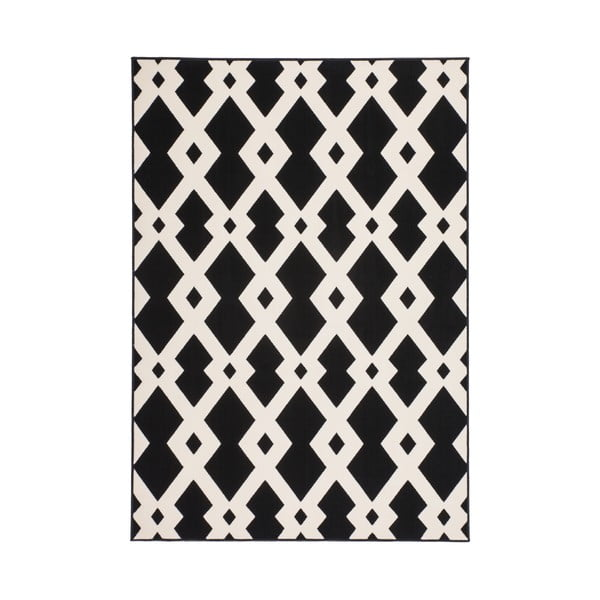 Czarny dywan Stella 100, 200x290 cm