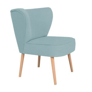 Turkusowy fotel BSL Concept Pearson