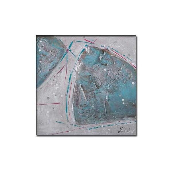 Obraz Turquois C, 30x30 cm