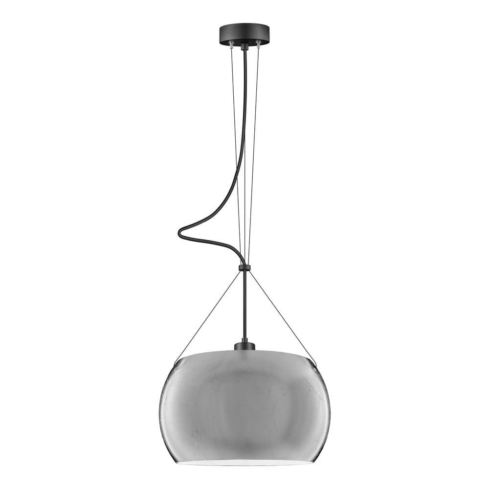 Lampa wisząca w srebrnym kolorze Sotto Luce MYOO Elementary