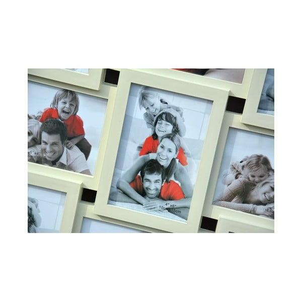 Połączone ramki na 9 zdjęć Photo, kremowe