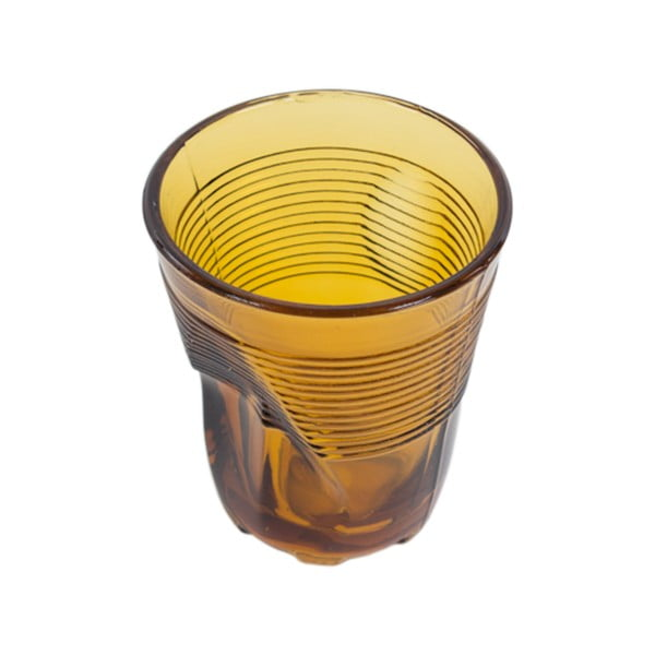 Komplet 6 szklanek Kaleidoskop 225 ml, butelkowozielony