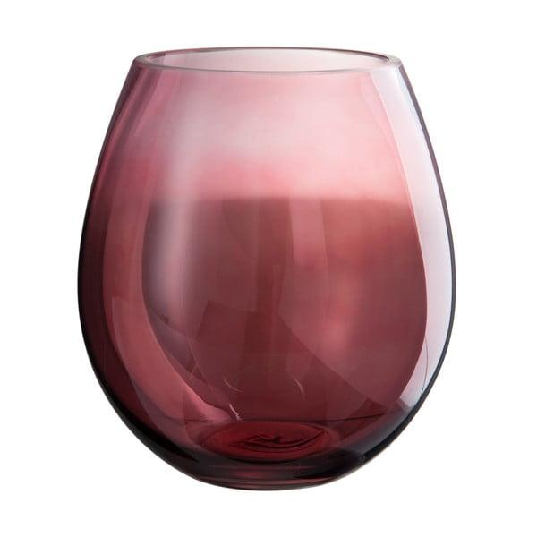 Szklany   świecznik Glassy, wysokość 21 cm