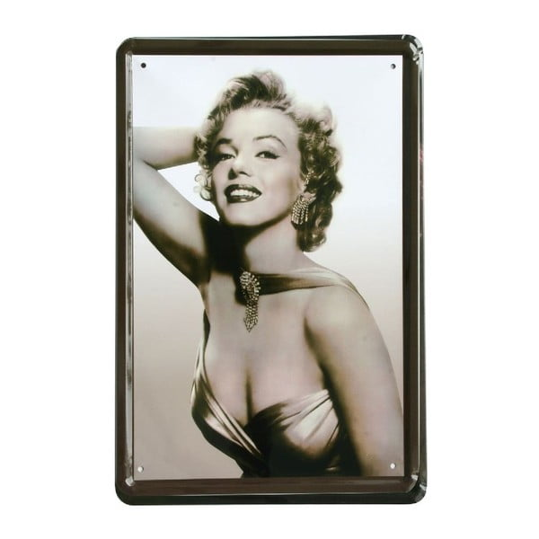 Tablica Marilyn Monroe, 20x30 cm