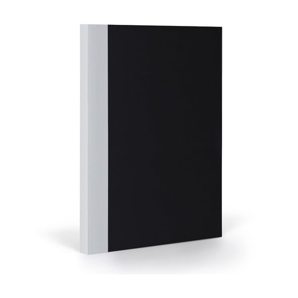 Notes FANTASTICPAPER XL Black/Cool Grey, w kratkę