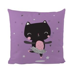 Poduszka   Dancing Cat, 50x50 cm