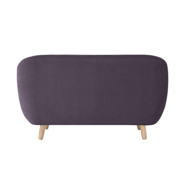 Fioletowa sofa dwuosobowa Jalouse Maison Vicky