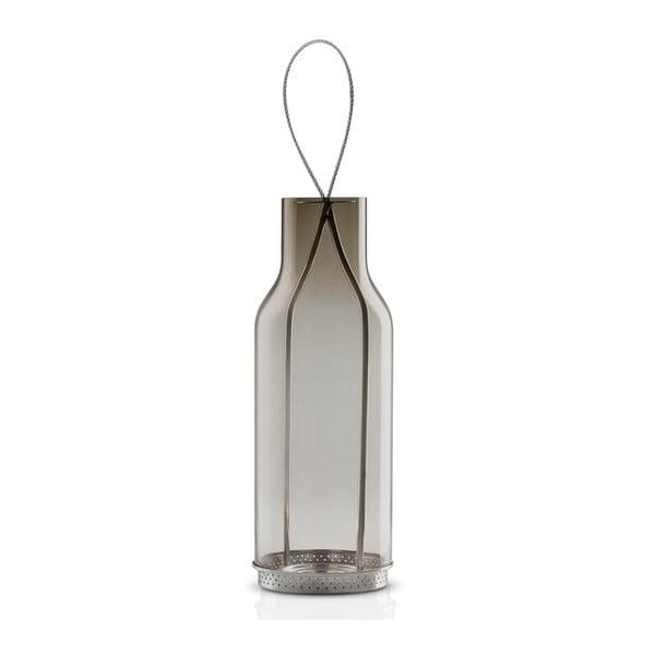 Lampion szklany Eva Solo Gray, szary