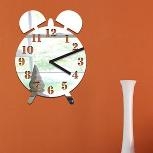 Lustrzany zegar Clock
