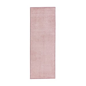 Różowy chodnik Hanse Home Pure, 80x200cm