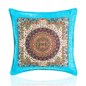 Poszewka na poduszkę Seramik Turquoise, 43x43 cm