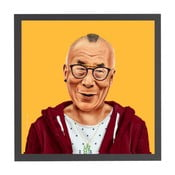 Obraz Dalai Lama, 50x50 cm