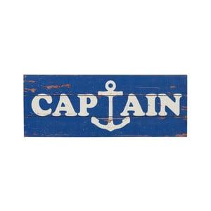 Tabliczka drewniana Captain