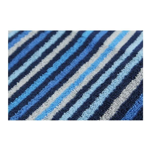 Zestaw 3 ręczników Collette Dark Blue, 50x100 cm