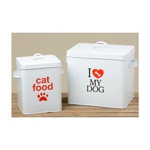 Zestaw 2 pudełek Cat and Dog