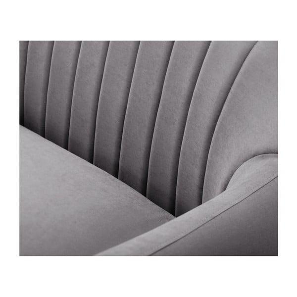 Szara sofa 3-osobowa Scandi by Stella Cadente Maison Comete