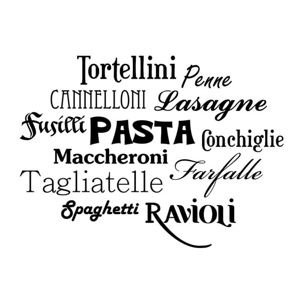 Naklejka Ambiance Italian Pasta