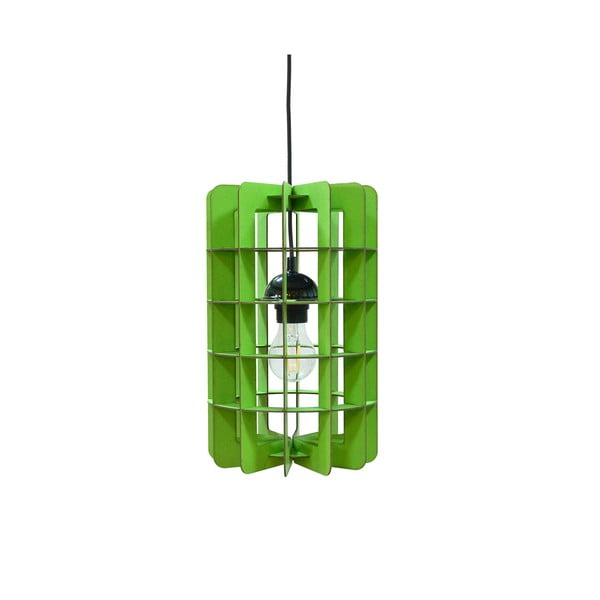 Lampa Tube, zielona