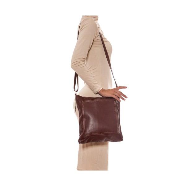 Skórzana torebka Renata Corsi 2066 Marrone