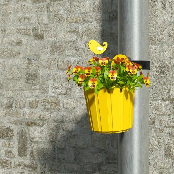 Doniczka  Mini Planter Yellow, 15,5x22/14 cm