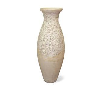 Terakotowy wazon Spiral, 80 cm