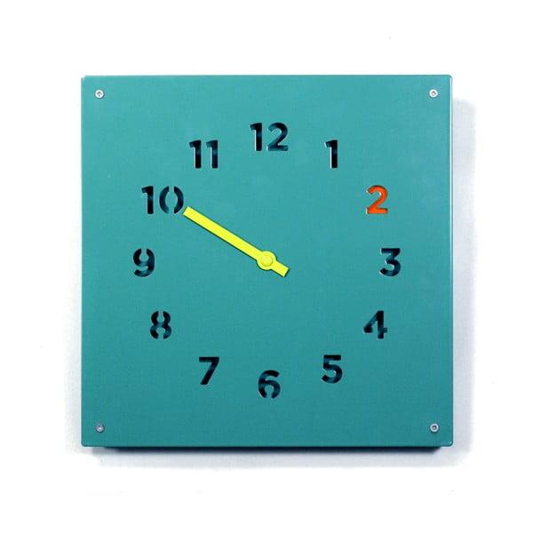 Zegar Wall Clock, niebieski