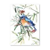 Plakat Blue Bird (projekt Surena Nersisyana), 42x30cm