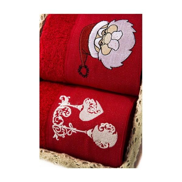 Zestaw 2 ręczników Xmas V14, 40x60 cm