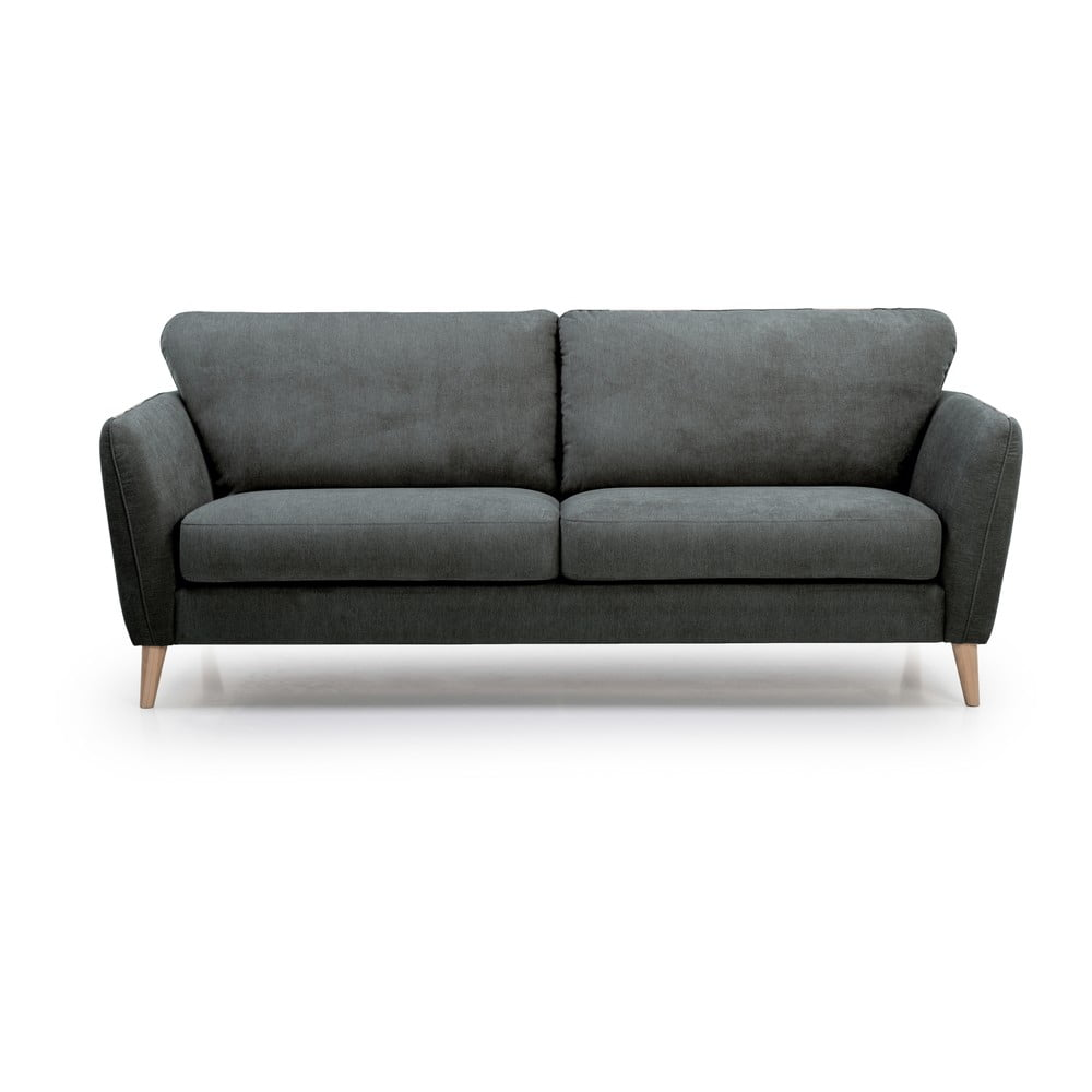 Antracytowoszara sofa 3-osobowa Scandic Vesta