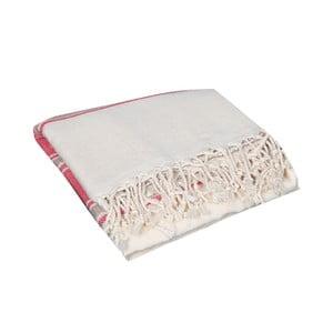 Ręcznik hammam Veronica Red, 90x190 cm