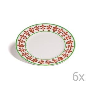 Zestaw 6 talerzyków Toscana Montalcino, 21.5 cm