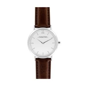 Zegarek męski z ciemnobrązowym paskiem Andreas Östen Lenno II
