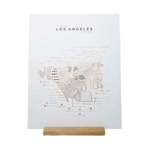Plakat Roam by 42 Pressed Los Angeles
