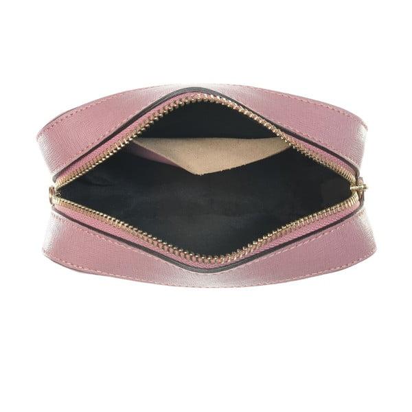 Skórzana kopertówka Little High Pink