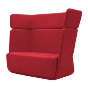 Czerwony fotel Softline Basket Valencia Red
