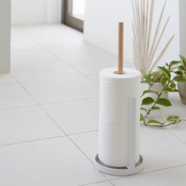 Biały stojak na papier toaletowy Yamazaki Tosca