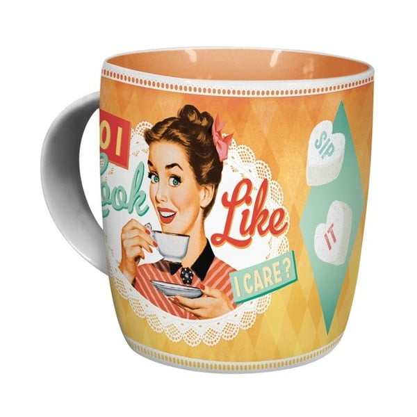 Kubek ceramiczny Cook Like I Care, 330 ml