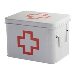 Metalowe pudełko na leki Red Cross