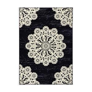 Czarny dywan Hanse Home Gloria Lace, 80x150 cm