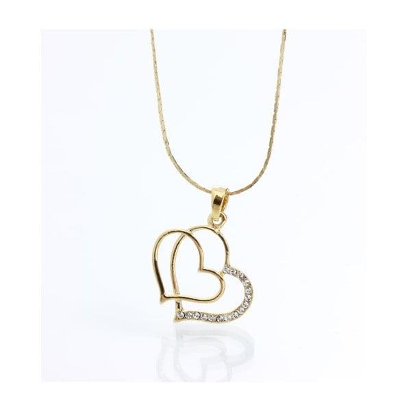 Naszyjnik Yasmine Golden Heart