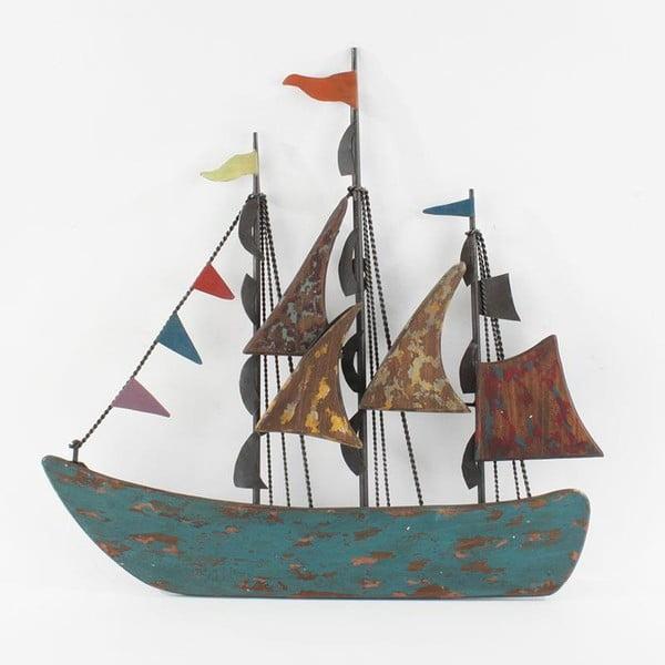 Dekoracja ścienna Płynąca łódź