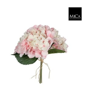 Sztuczny kwiat Ego Dekor Różowa hortensja II