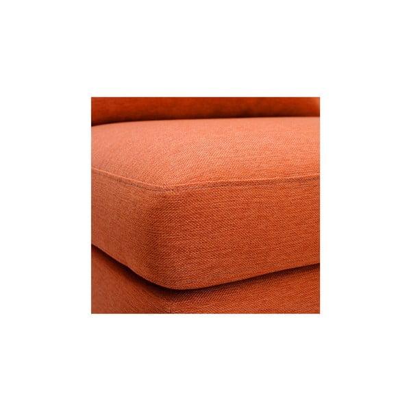 Pomarańczowy fotel VIVONITA Liam